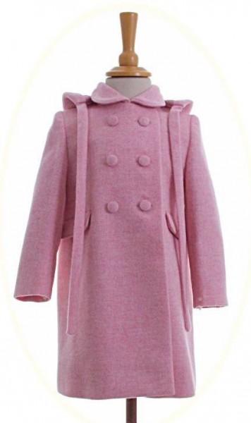 Child's coat with hood