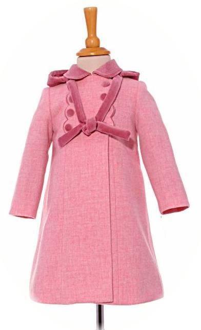 Little Girl S Traditional Winter Coat