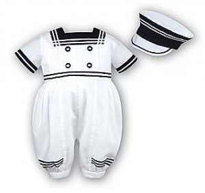 Baby's sailor suits