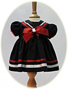 Girl's sailor dress