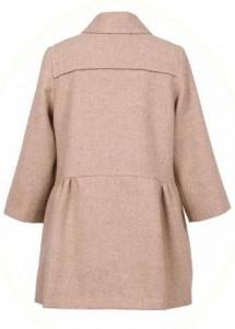 Girl's coat from Hucklebones backview