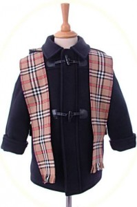 Child's traditional duffle coat