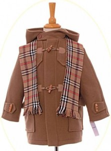 Child's classic duffle coat