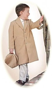 Little boy's coat and cap