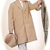 Little boy's coat and cap