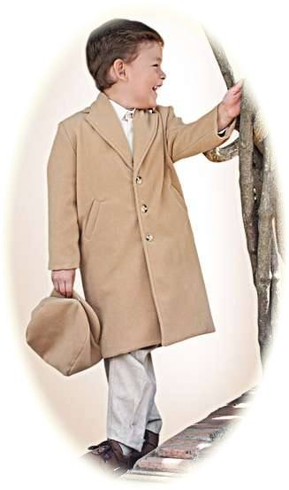 Little Boy S Coat And Cap From The Pretty Originals
