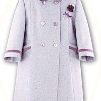 Girl's smart coat and hat