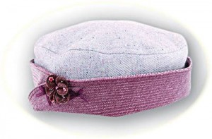 Girl's smart matching hat
