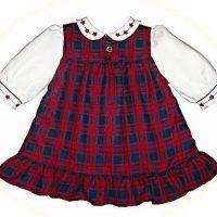 Babies' winter dresses