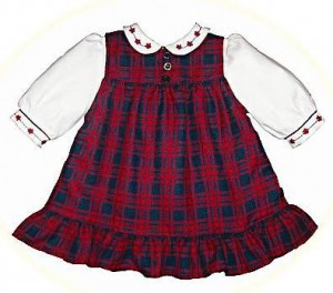 Babies' winter dresses