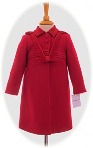 Girl's traditional coat