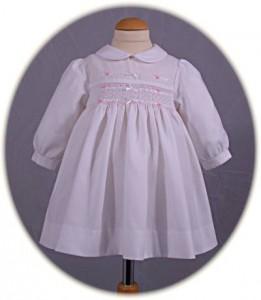 babies smocked dress