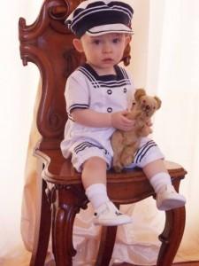 Max in his sailor suit