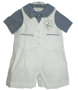 Little boy's smart suit