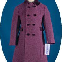 Child's 100% wool coa in Heather Tweed
