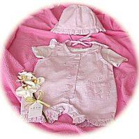 Baby girl's sun suit
