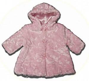 Little girl's hooded coats