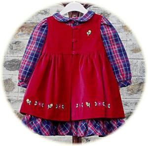 Little girl's winter dress