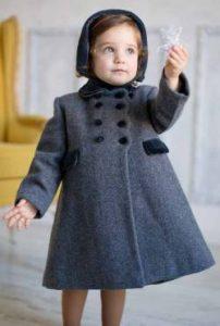 Classic coat and bonnet