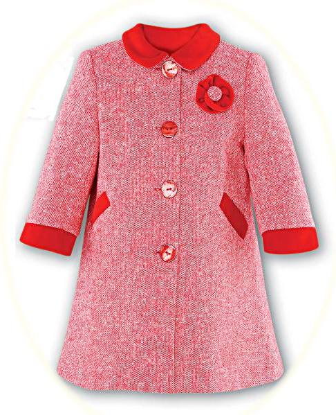 99ccb03149e6 Girl s smart coat from Sarah Louise. Includes a matching hat.