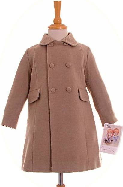 Boy S Traditional Winter Coat Available In Camel And Navy