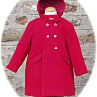 Toddler's coat with hood