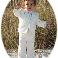 Little boy's velour suit