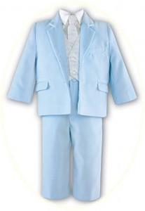 Boy's velour suit