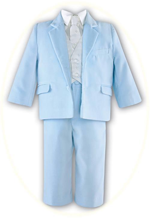 Boy's velour suit