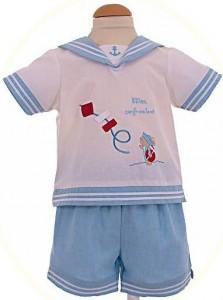 Baby boy's sailor suit