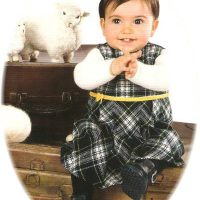Girl's tartan dress